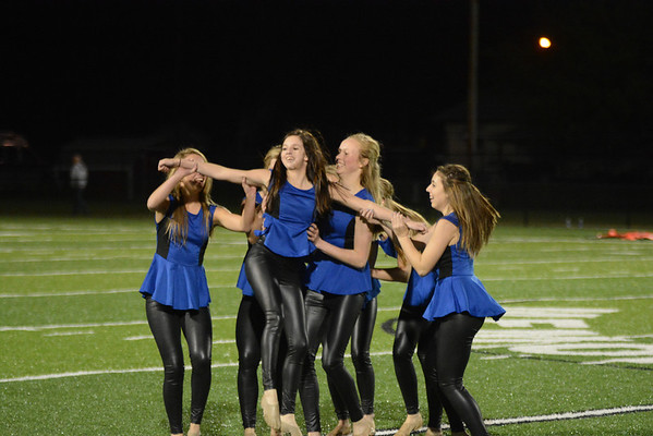 Dance Team Halftime vs Laurel - Concord