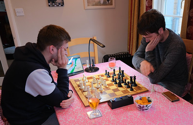 Blitz Chess with Marcus and James
