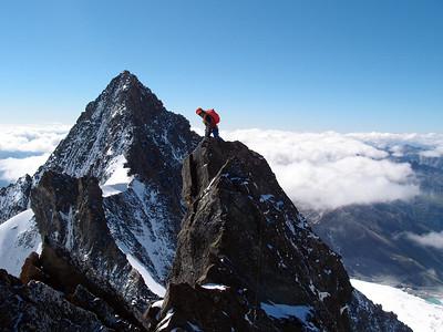 07 16 Glocknerwand-Grossglockner ridge traverse