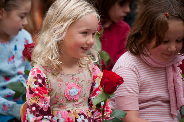Rose Ceremony, First Day of School