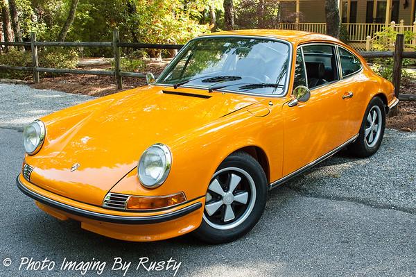 "1970 -  911 ""S"" Porsche Show Car Pics"