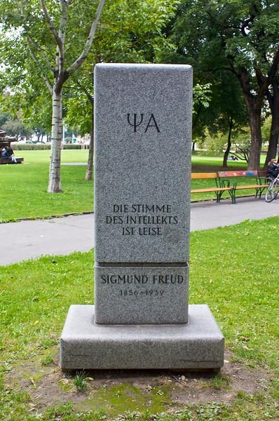 Sigmund Freud Park, Vienna