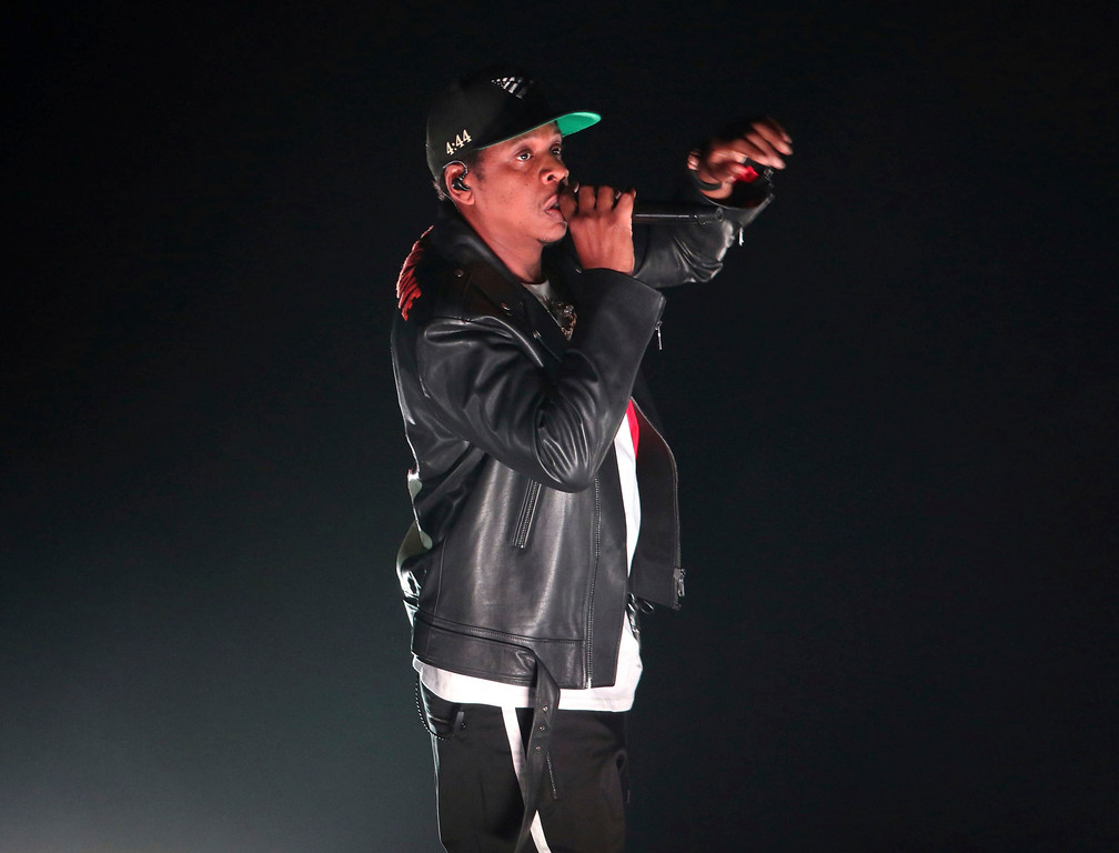 . Jay-Z performs at Philips Arena on Tuesday, November 14, 2017, in Atlanta. Jay-Z will perform Nov. 19 at Quicken Loans Arena in Cleveland. For more information, visit www.theqarena.com/events/detail/jayz-171129.  (Photo by Robb Cohen/Invision/AP)
