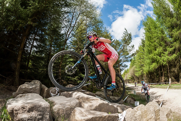 NATIONAL XC SERIES RND 3 DALBY FOREST 15TH MAY ELITE WOMEN