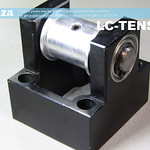 SKU: LC-TENSION, Belt Tensioner Roller with Base for TruCUT Laser Machine X-Axis