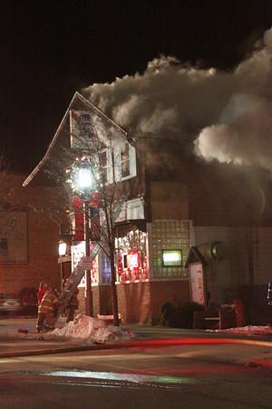 Fire Destroys Kleeman's Bar