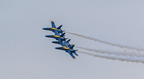 Blue Angels and Wings Over Houston