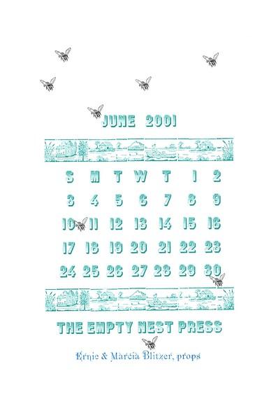 June, 2001, The Empty Nest Press