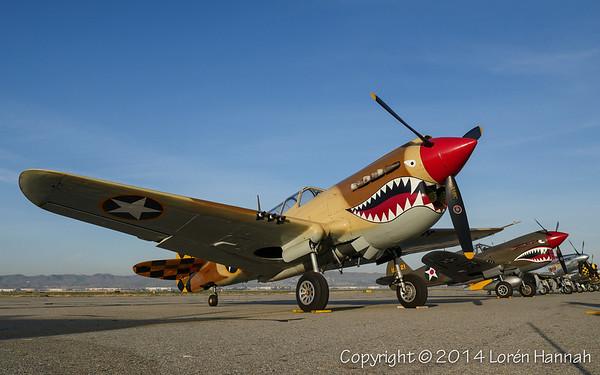STATICS & RUNWAY - Planes of Fame 2014 Airshow - Chino, CA