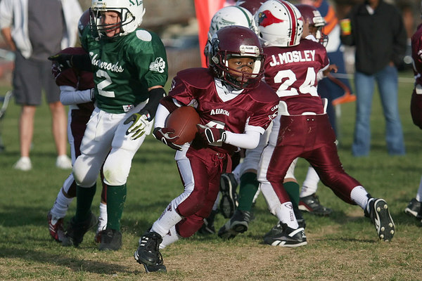 Cardinal Maroon vs Shamrock Green  11-5-2006 & PLAYOFF Game 11-08-06