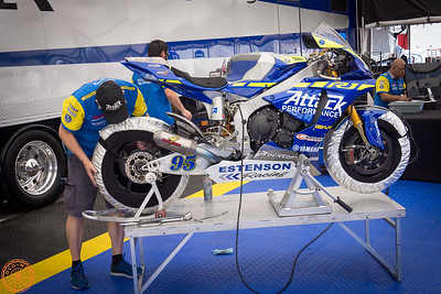 2019 MotoAmerica bikes at COTA