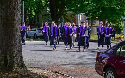 2021 UW Graduation with the Beta's