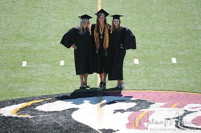 Marching Chief Ladies Graduation Shots!