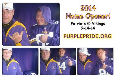9-14 Patriots @ Vikings