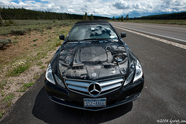 """""""Mercy"""" (Mercedes E350 Convertible)"""