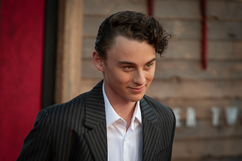 """WESTWOOD, CA - AUGUST 26: Wyatt Oleff attends the Premiere Of Warner Bros. Pictures' """"It Chapter Two"""" at Regency Village Theatre on Monday, August 26, 2019 in Westwood, California. (Photo by Tom Sorensen/Moovieboy Pictures)"""