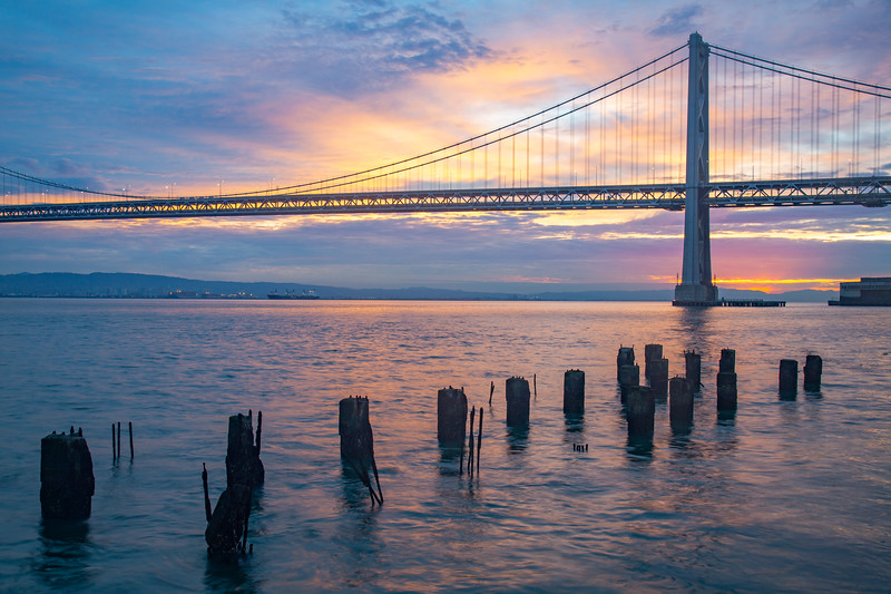 Bay Bridge Sunrise