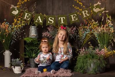 Kinder and Sofie Easter Mini