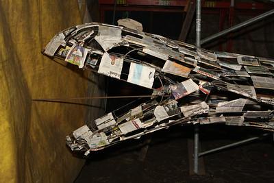 Bloemencorso 2009 - Wagenbouw (14 augustus)