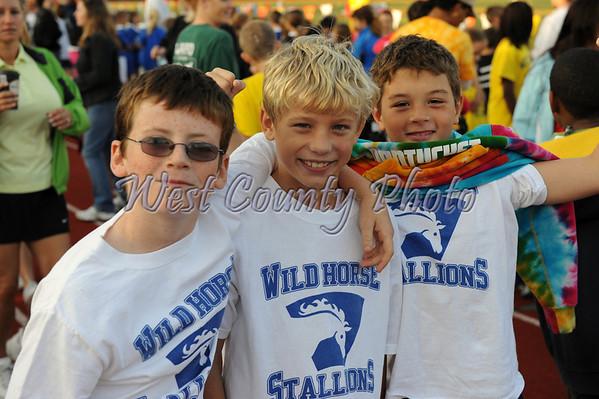 4th & 5th Grade Rockwood Mile Oct. 11, 2008