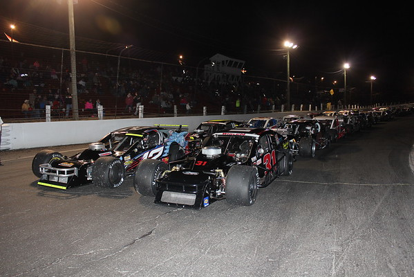 Tri Track Open Modified Series October 25th 2015