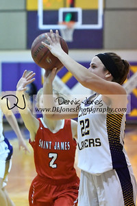 Lady Lakers vs St. James 1/27/18 Laker ShootOut