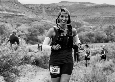 Kara at Zion 100