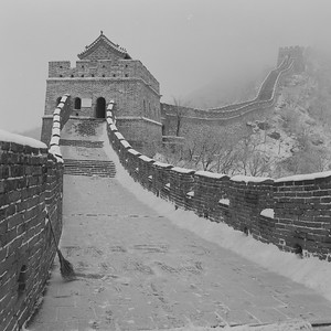 Great Wall of China in SNOW - 1997