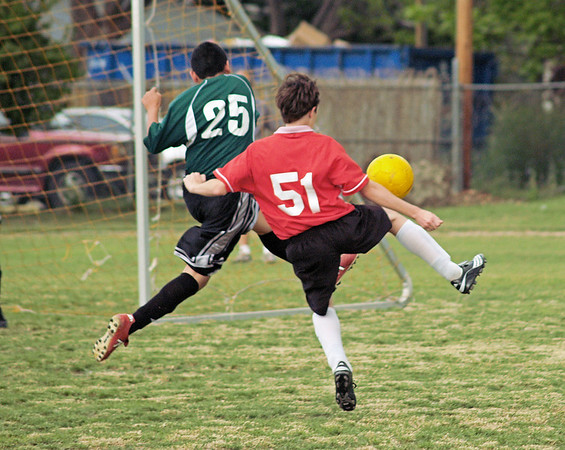 St. Theresa's 7-8 Soccer vs St. Louis