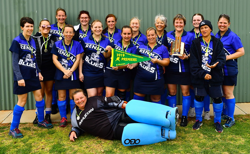 """B"" Women PREMIERSHIP TEAM PHOTO Renmark"