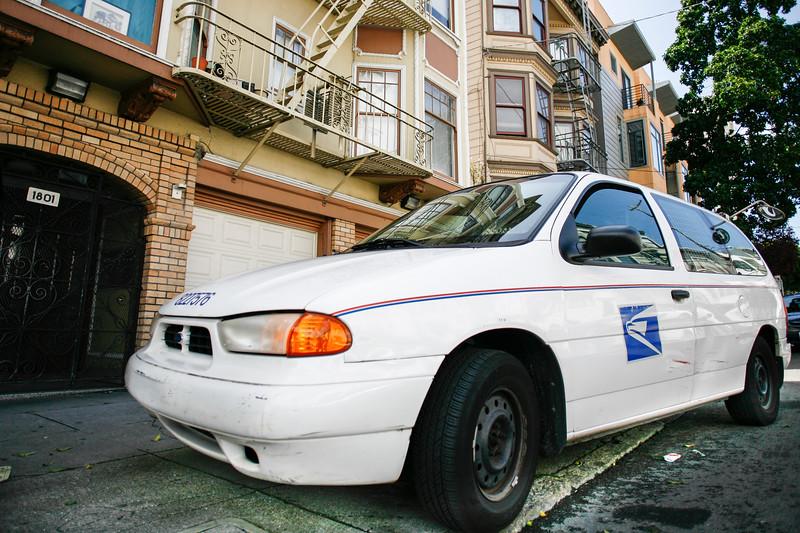 Your mailman's finest parking