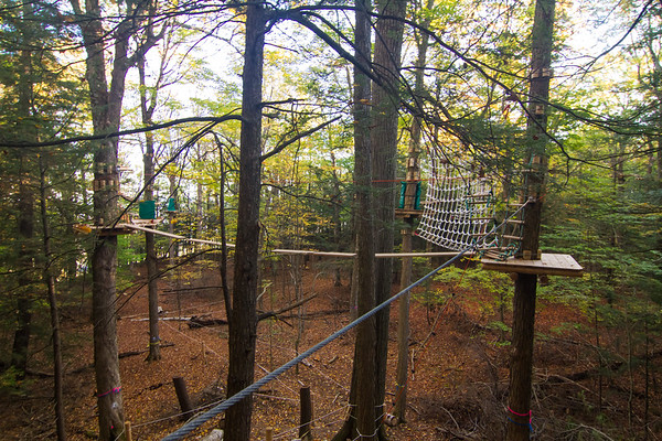 Little falls with Joe/Wild Play Ropes course