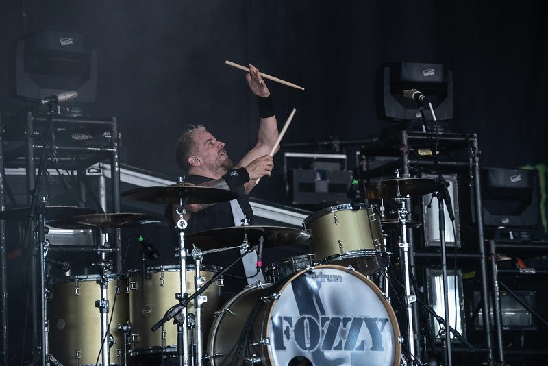 Fozzy at the BB&T