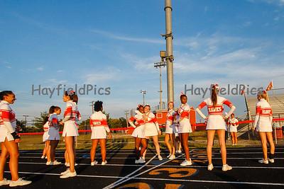 Cheerleaders Madison 9/14/12