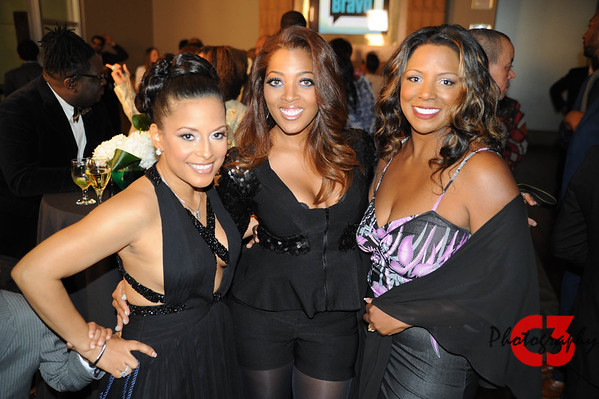 Lisa Nicole Married to Medicine Premier Party