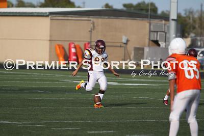La Porte Freshman B Football vs Deer Park 10/18/2012