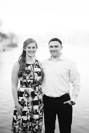 Rebecca + Mitch BW
