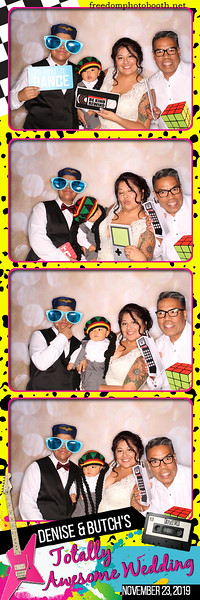 Denise & Butch's Totally Awesome Wedding 11.23.19