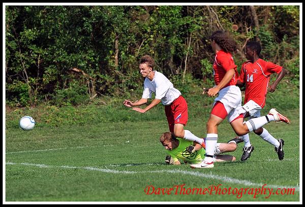 Soccer - Ocean Boys Varsity vs Neptune  Sept 2012