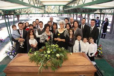 Wally Morris Funeral 1-29-10