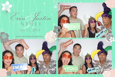 Erin & Justin's Wedding (Luxury Photo Pod)