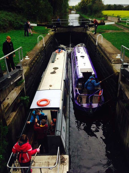 Scouts - Narrowboat Weekend