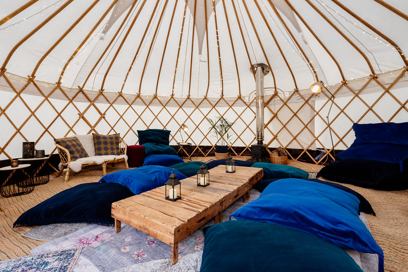20ft Yurt - Chillout Package