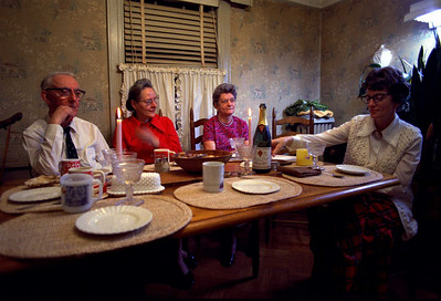 Thanksgiving 1973 at Queens Village