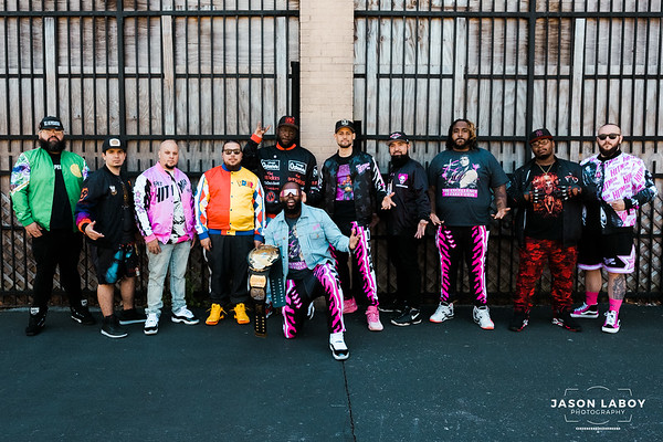 """Chalkline Group Shoot with """"Bret Hart"""""""