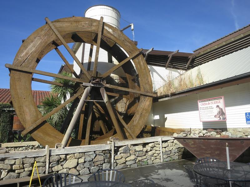 Waterwheel of Casa de Sluice