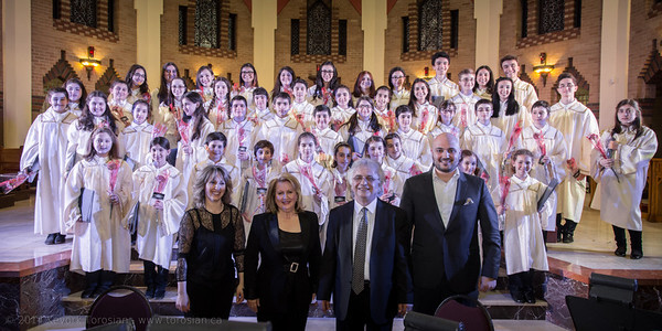 Concert de la choral des enfants 'Nor Dzaghig'