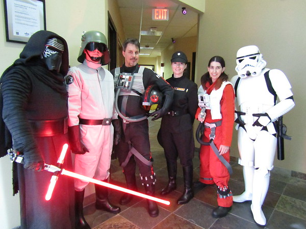Ascentec Engineering Annual Star Wars Event