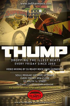 Thump @ Temple Bar & Lounge 11.16.12