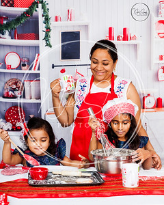 Aneela & Girls Christmas shoot